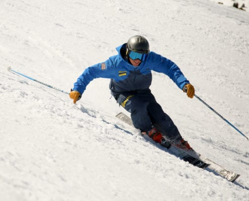 Being a ski instructor - Sam Taylor Carving