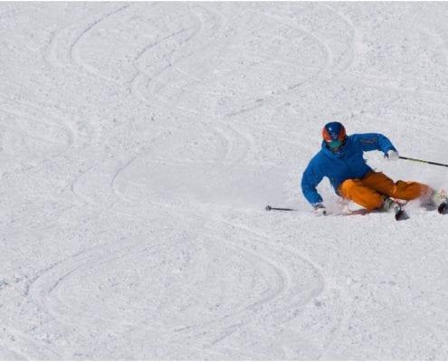 skiing demo
