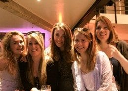 a few of the ladies from our team in Villars