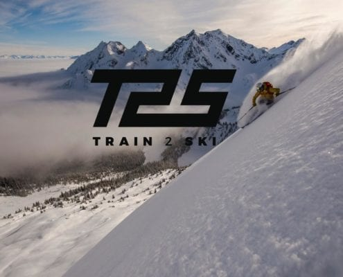 Train2Ski Banner for ski fitness