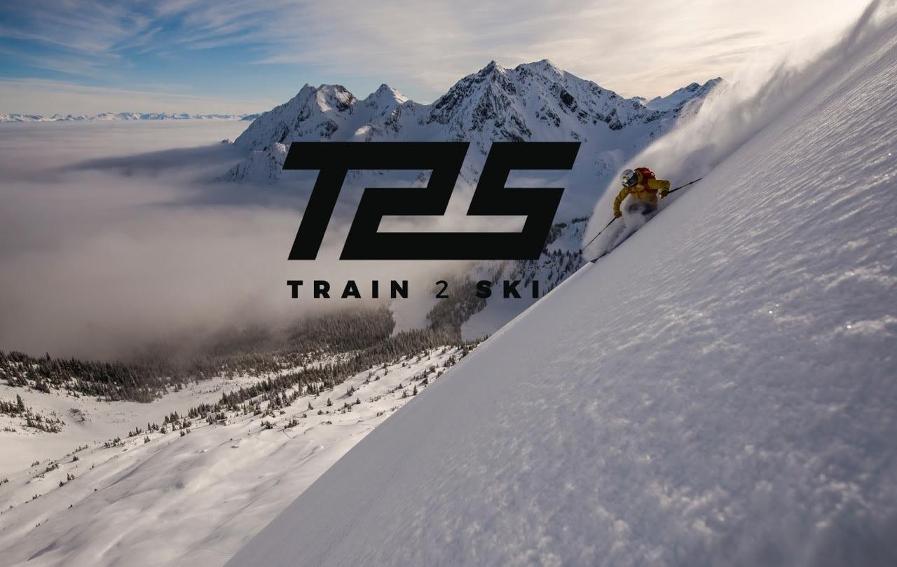 Train2Ski Banner for ski fitness